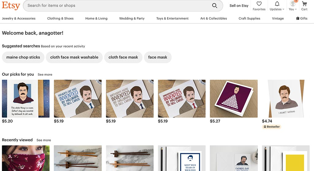 The 7 Best eCommerce Marketplaces for Online Sellers: Etsy