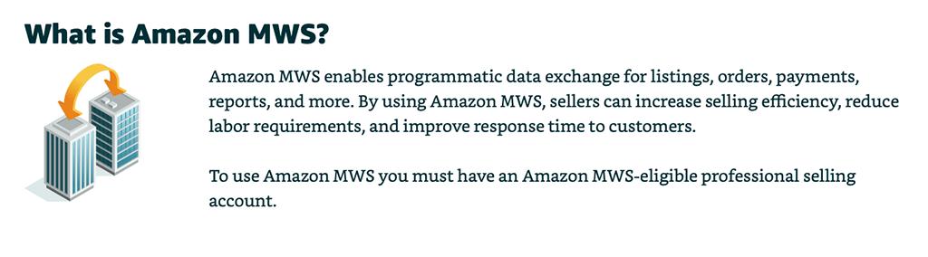 Amazon MWS