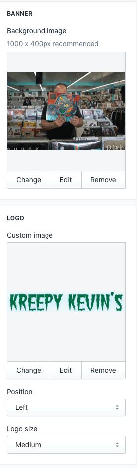 Shopify checkout settings