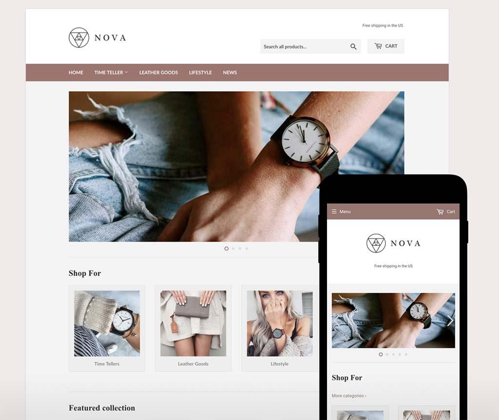 Shopify Free Theme: Supply