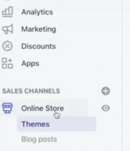 """How Do I Remove """"Powered By Shopify"""" From My Site > Themes"""