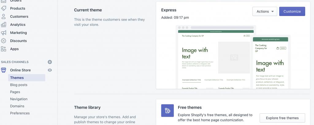 How do I Start a Shopify Store? > Company Info