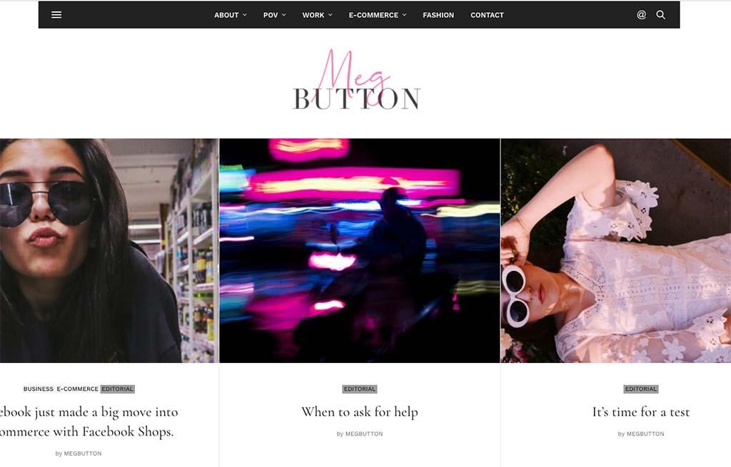 Shopify Guru: Meg Button