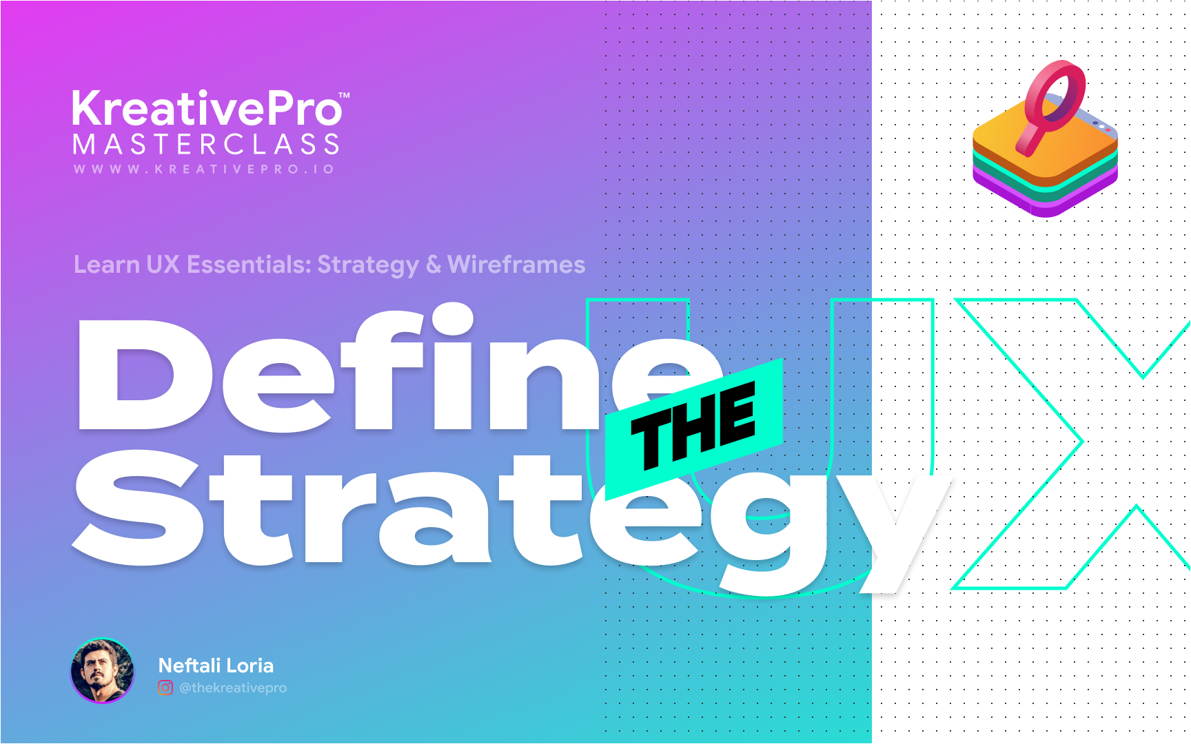 UX 3.0 - Define the Strategy