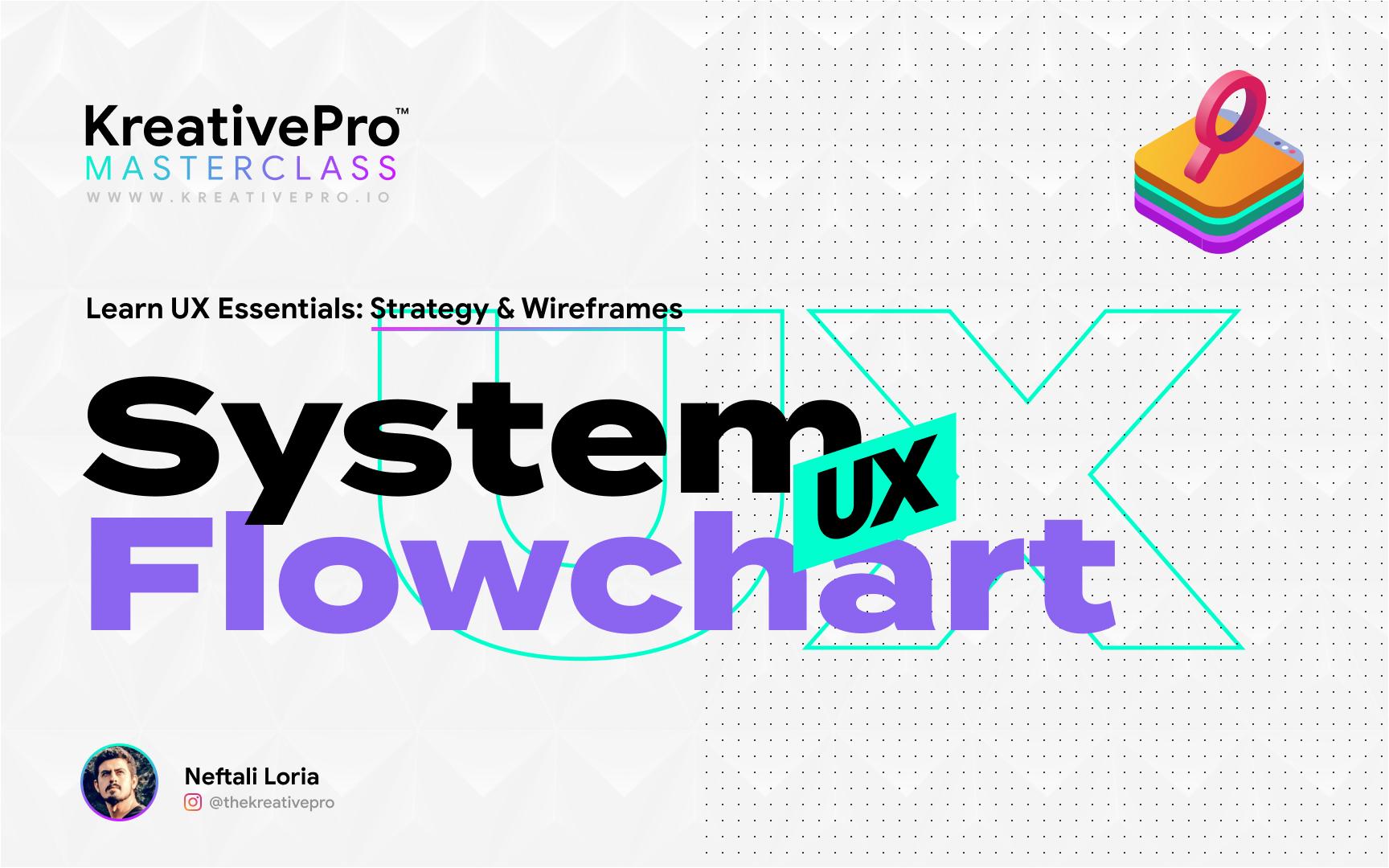 UX 4.6 - System Flowchart