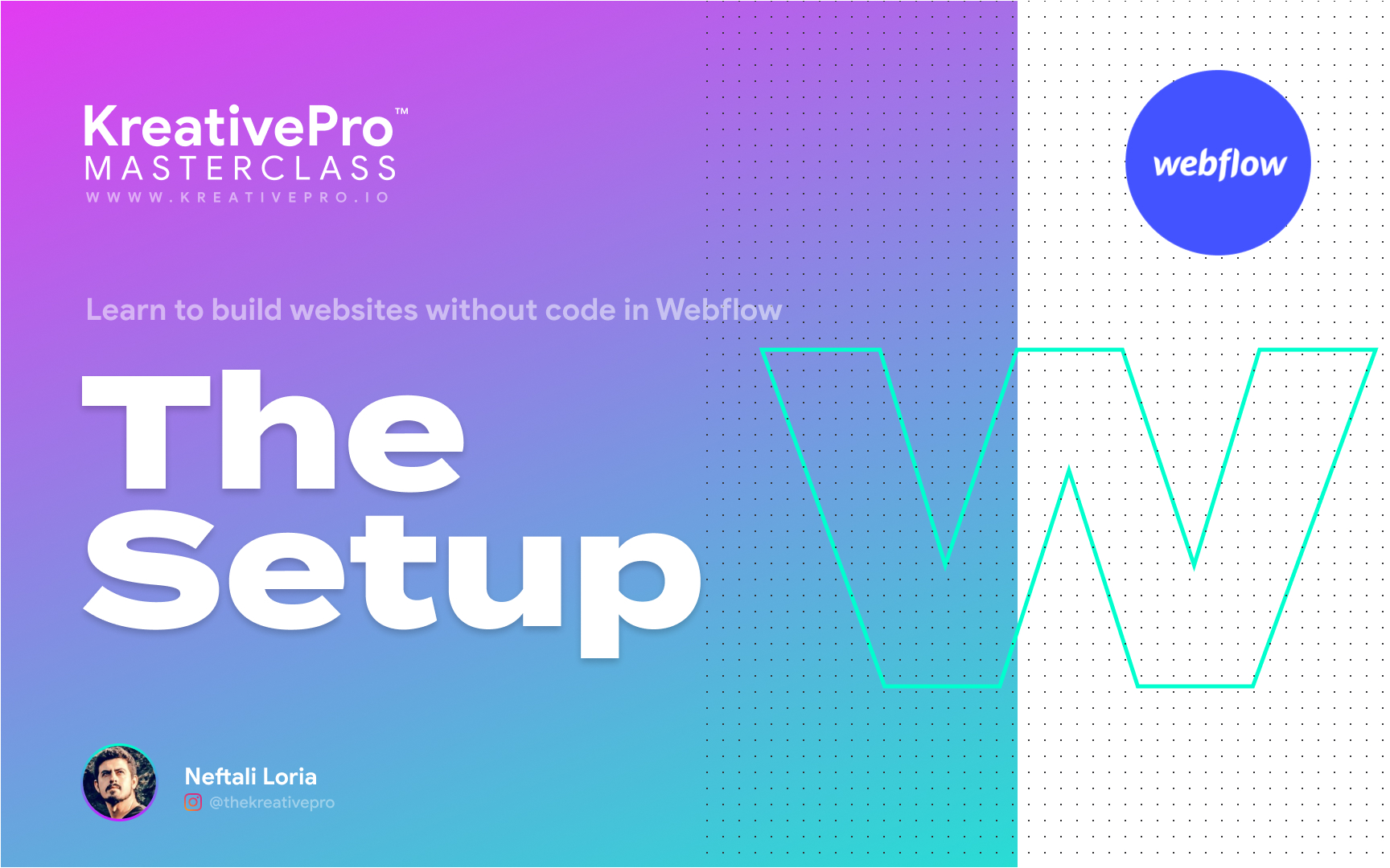 Webflow 2.0 - The Setup