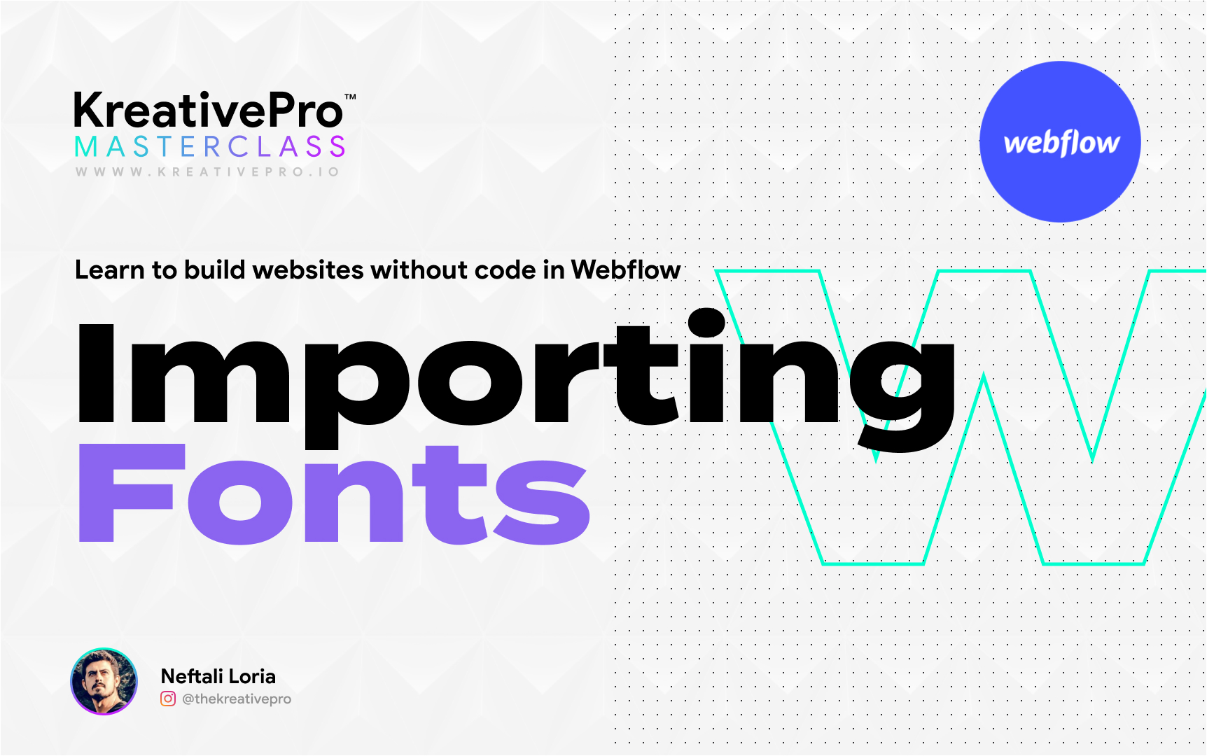 Webflow 2.4 - Importing Fonts