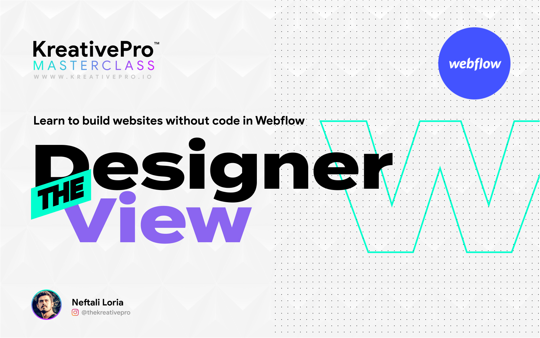 Webflow 2.6 - Designer View