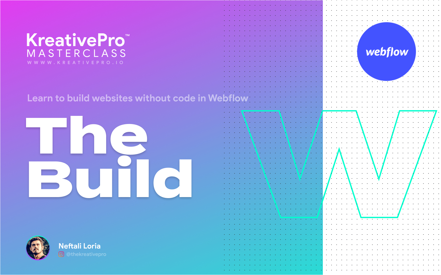 Webflow 3.0 - The Build