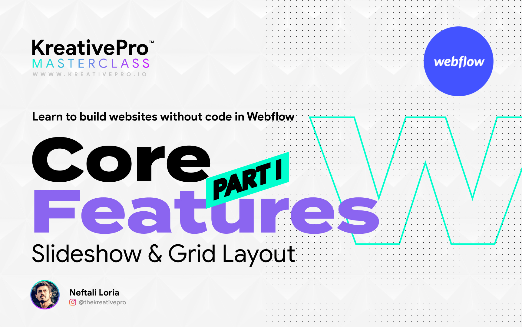 Webflow 3.4 - Features Part I: Slideshow and Grid