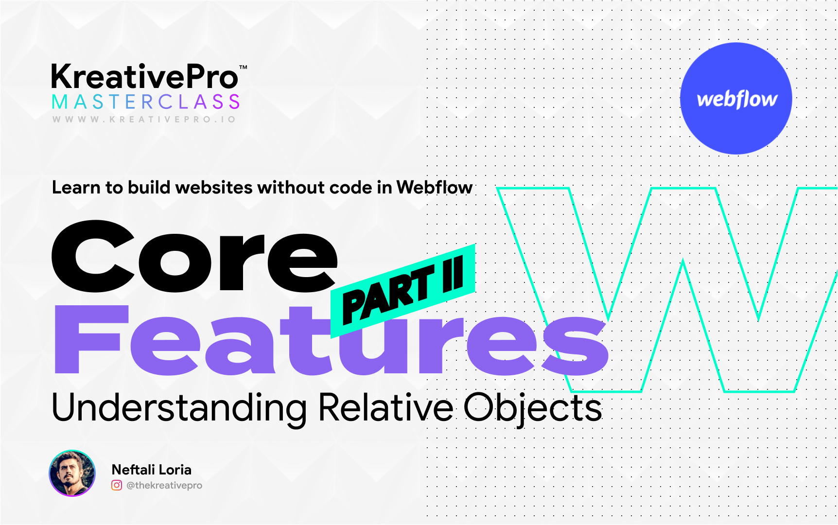 Webflow 3.4 - Features Part II: Relative Objects