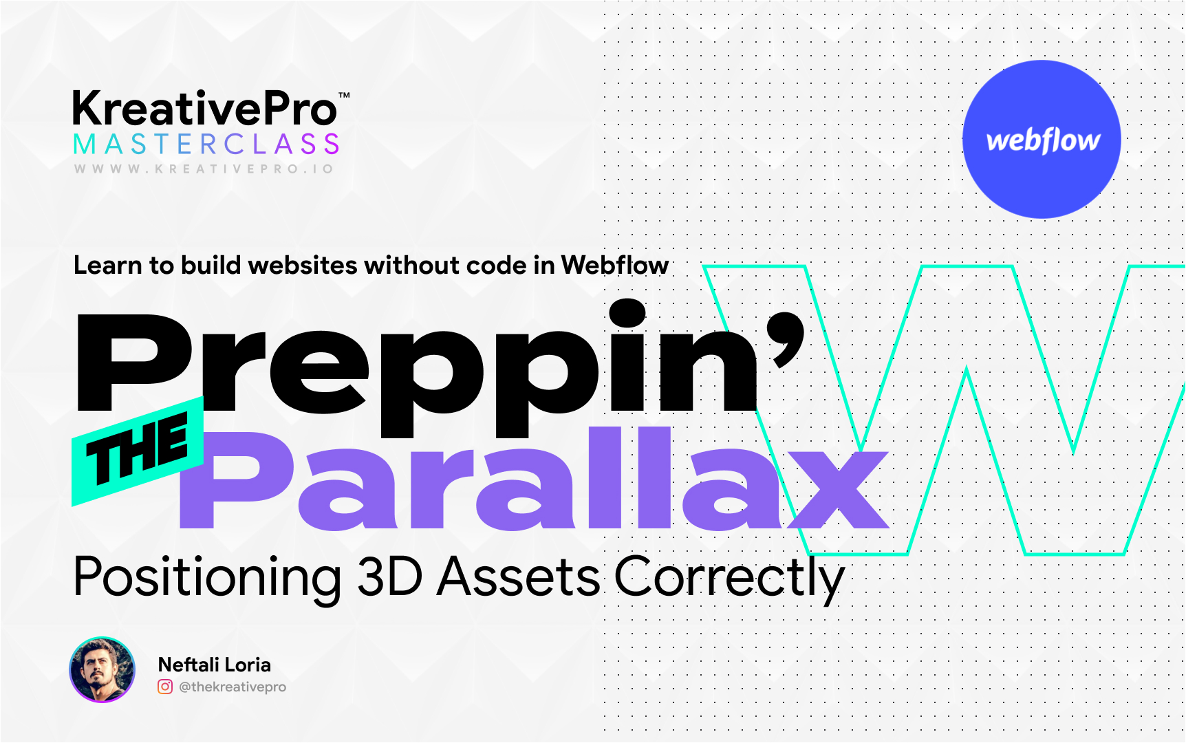 Webflow 3.6 - The Parallax Setup