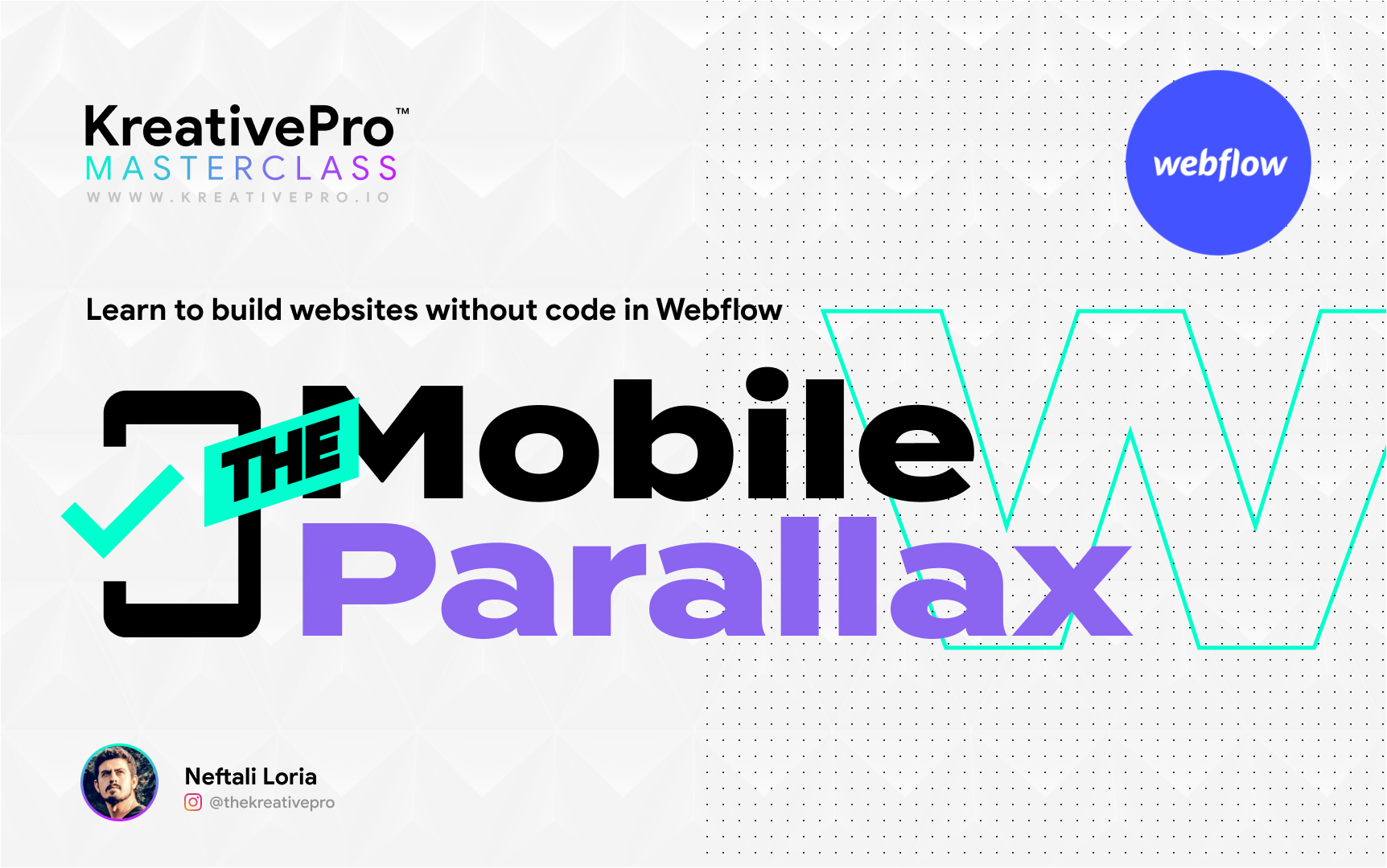 Webflow 4.7 - The Mobile Parallax