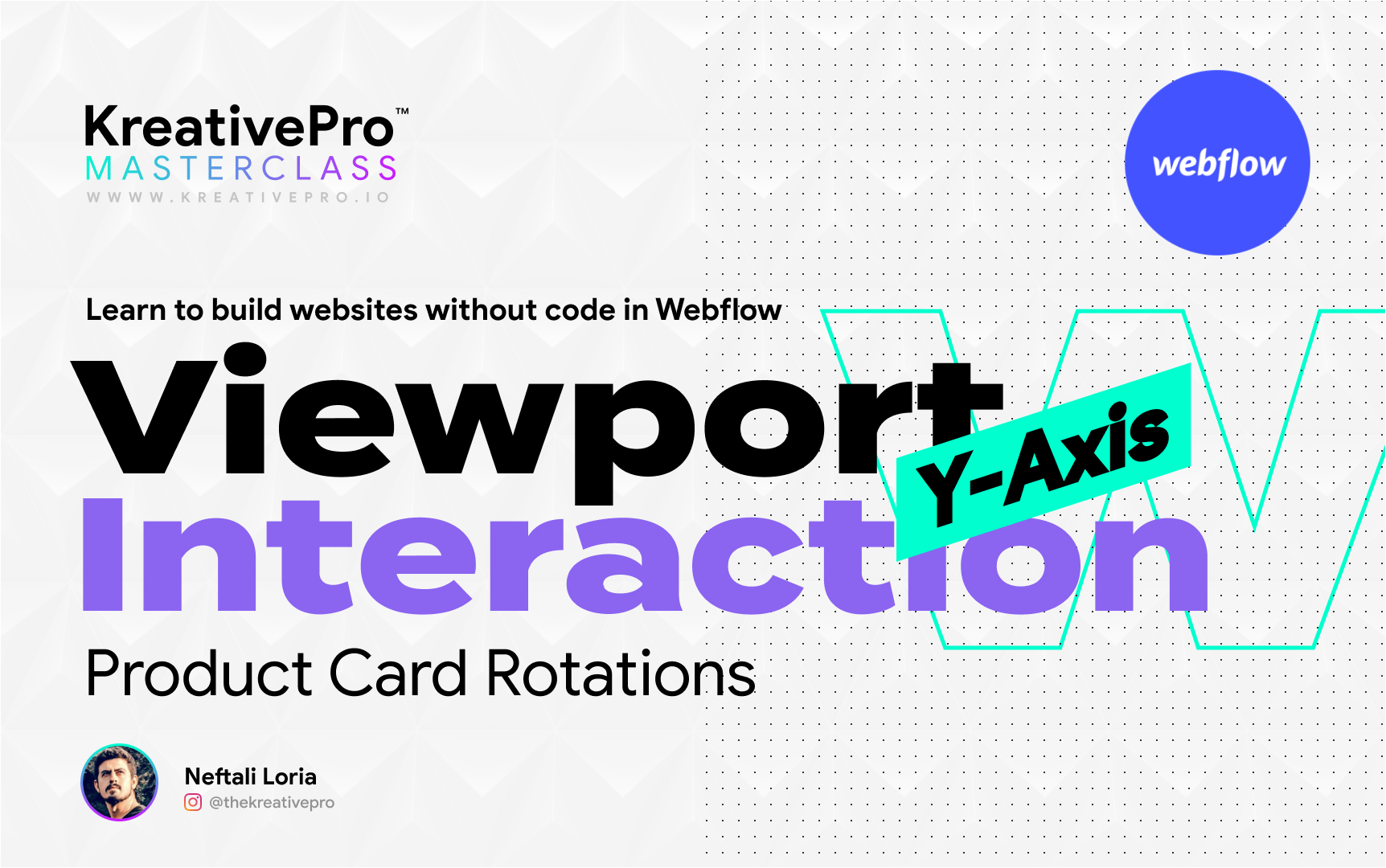 Webflow 5.7 - Viewport Y-Axis Interaction