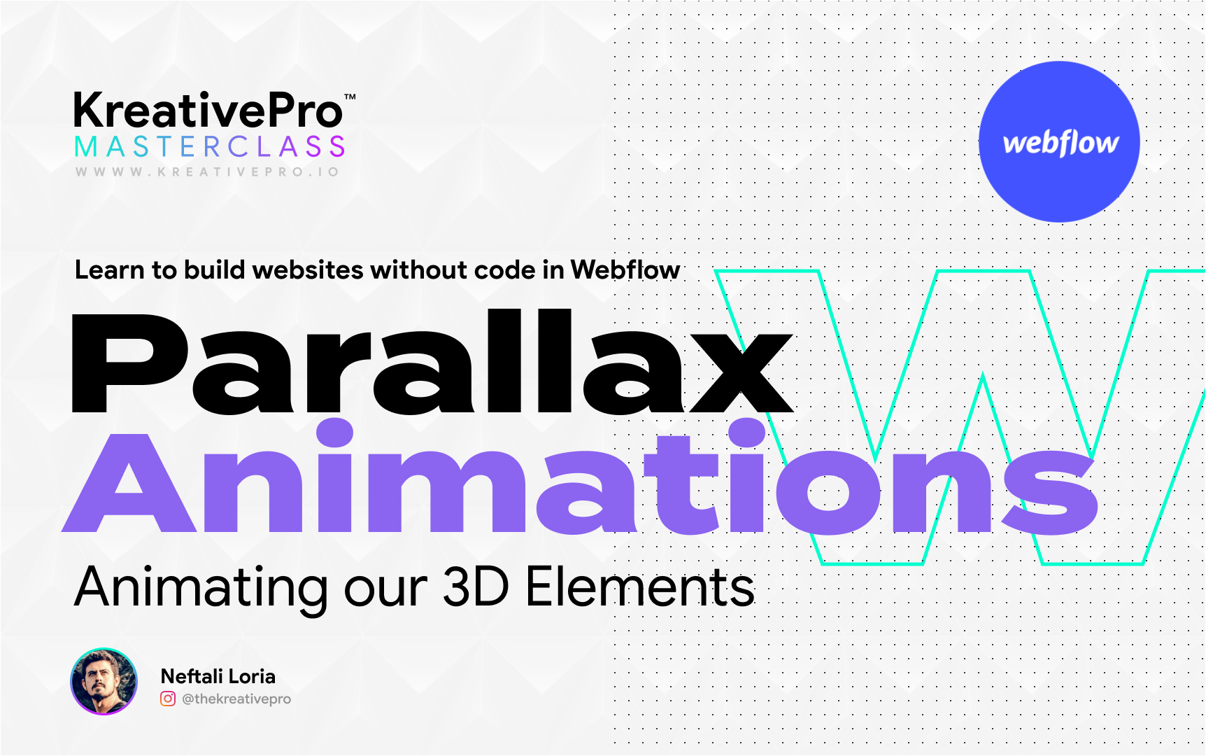 Webflow 5.8 - Parallax Animations
