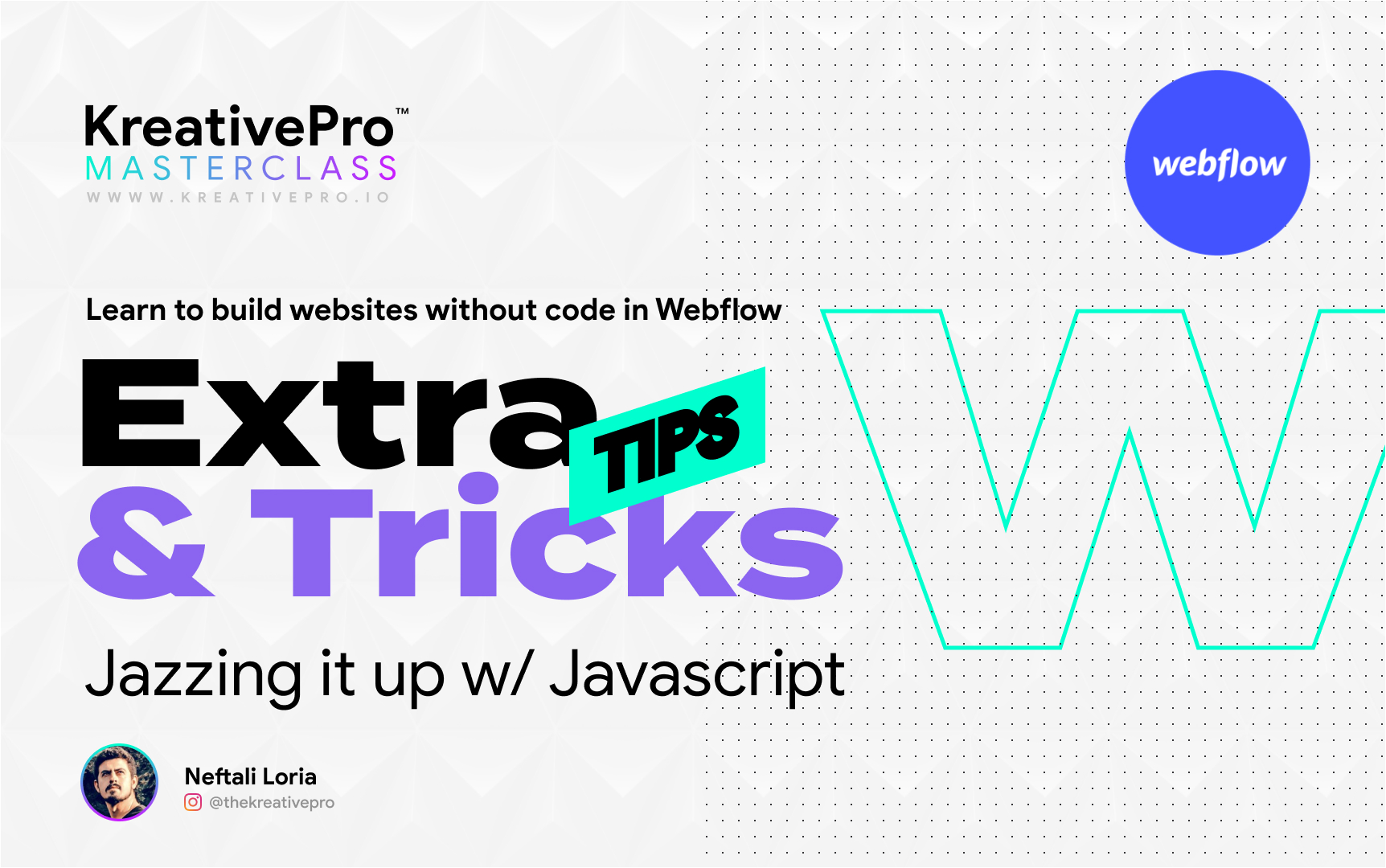 Webflow 5.9 - Extra Tips and Tricks