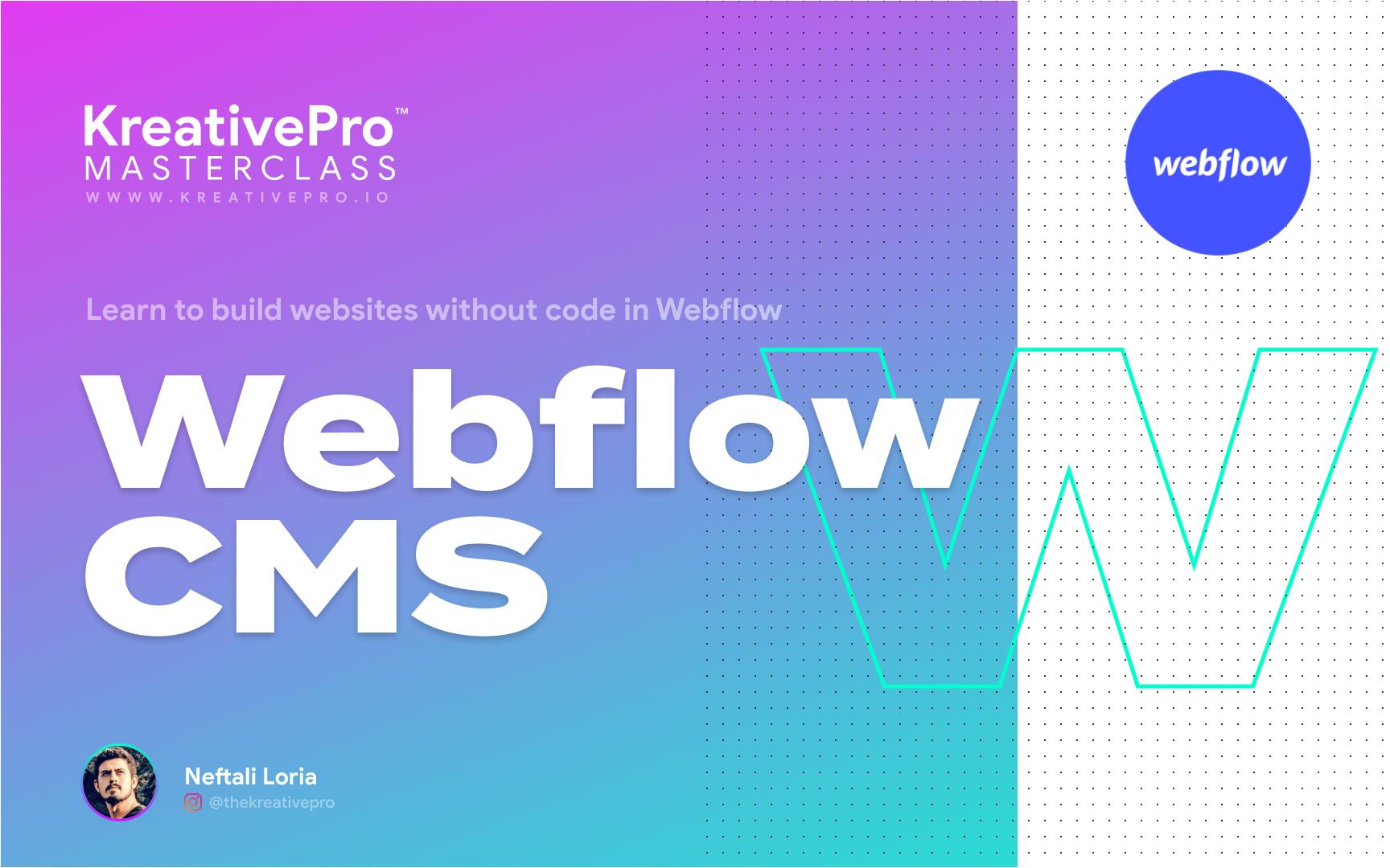 Webflow 6.0 - Webflow CMS