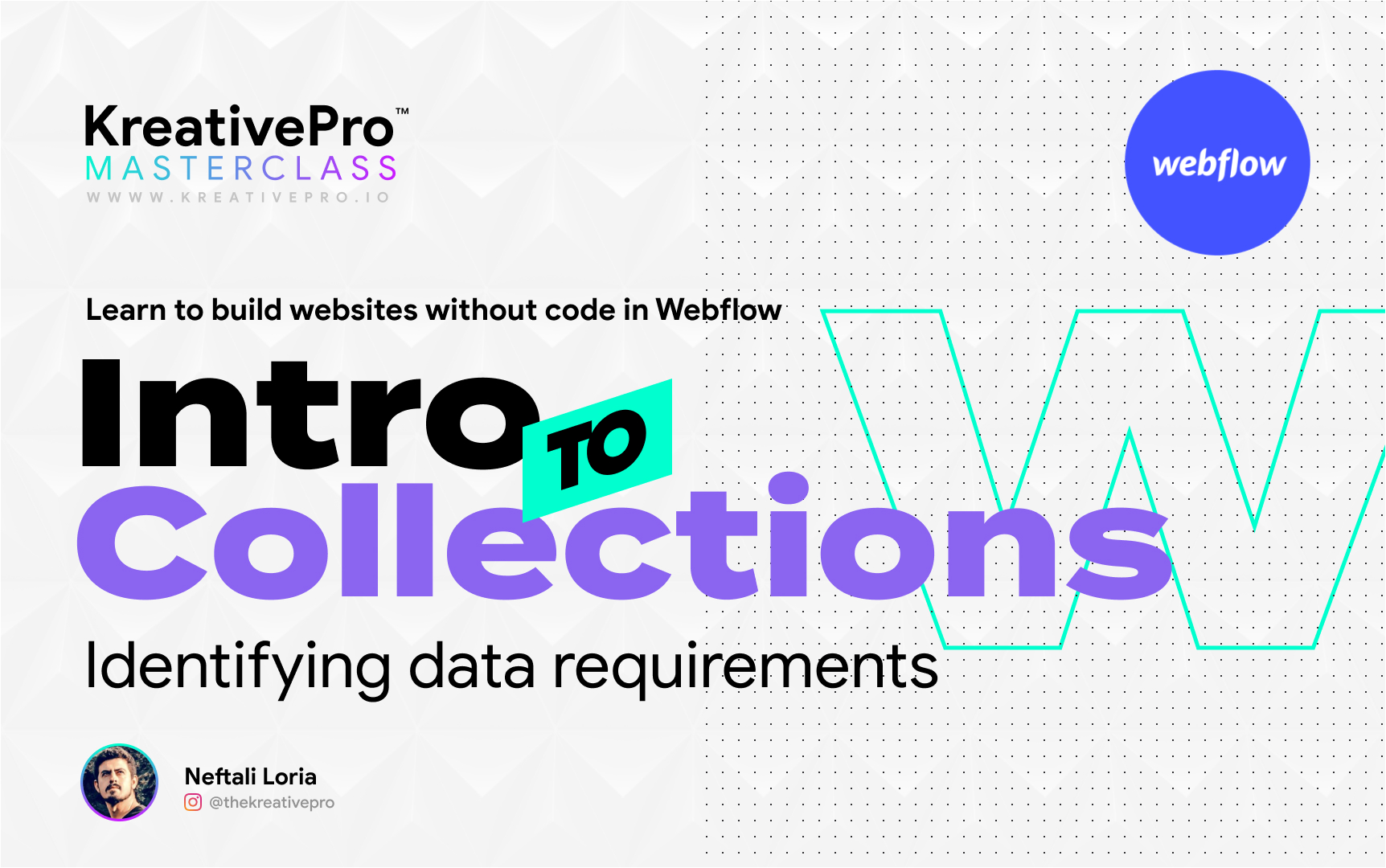 Webflow 6.1 - Intro to Collections