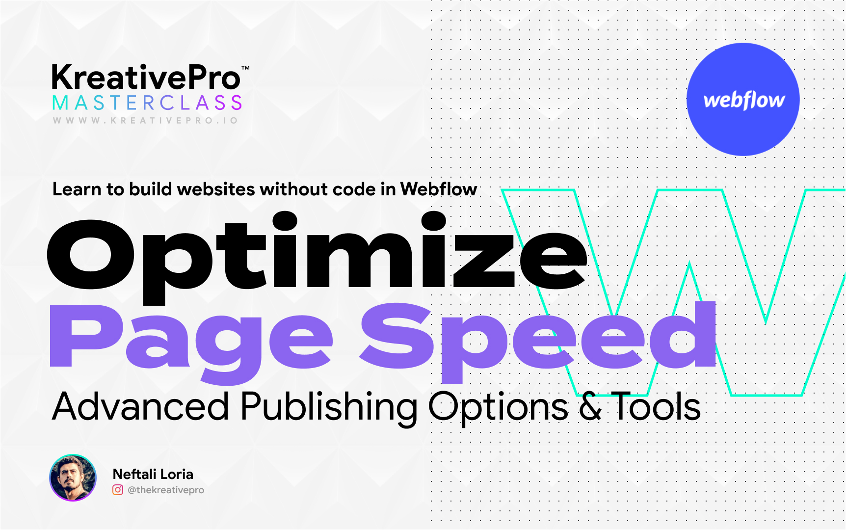 Webflow 7.2 - Optimize Page Speed