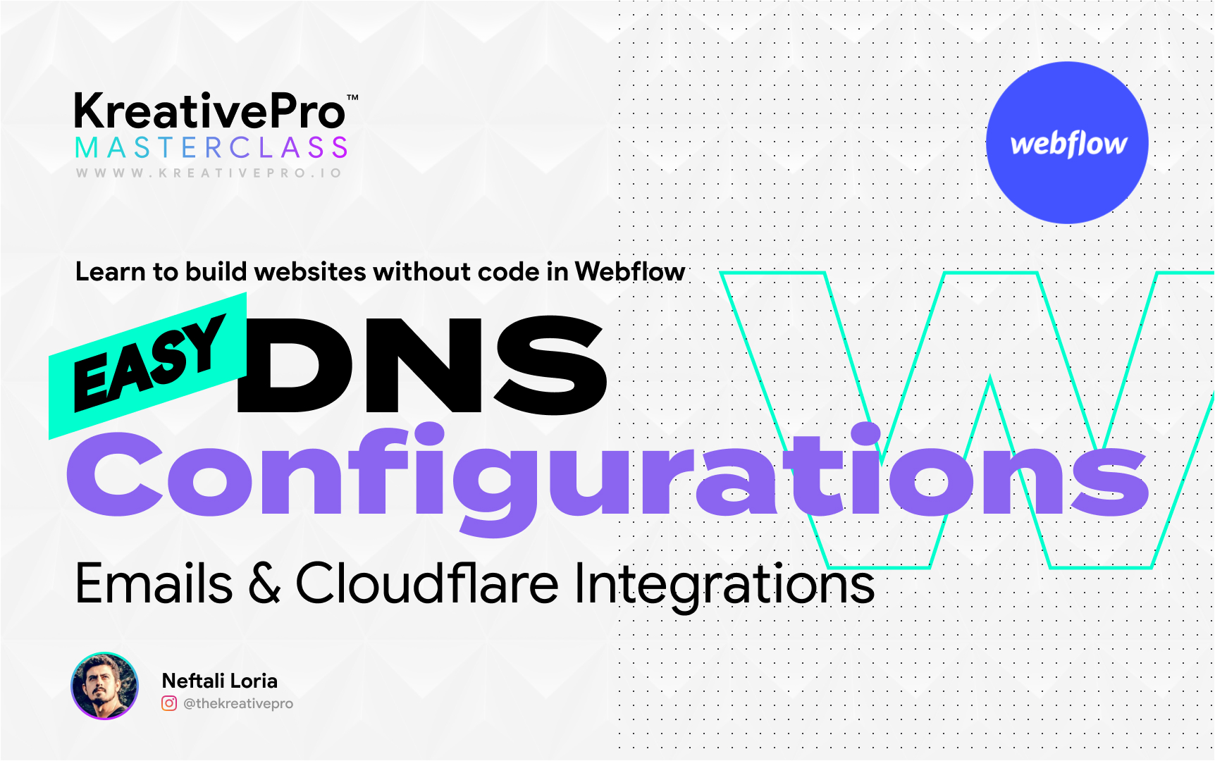 Webflow 7.3 - DNS Configurations