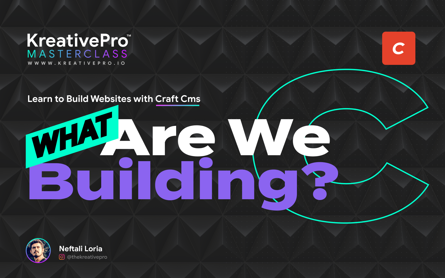 Craft 1.1 - What are we building