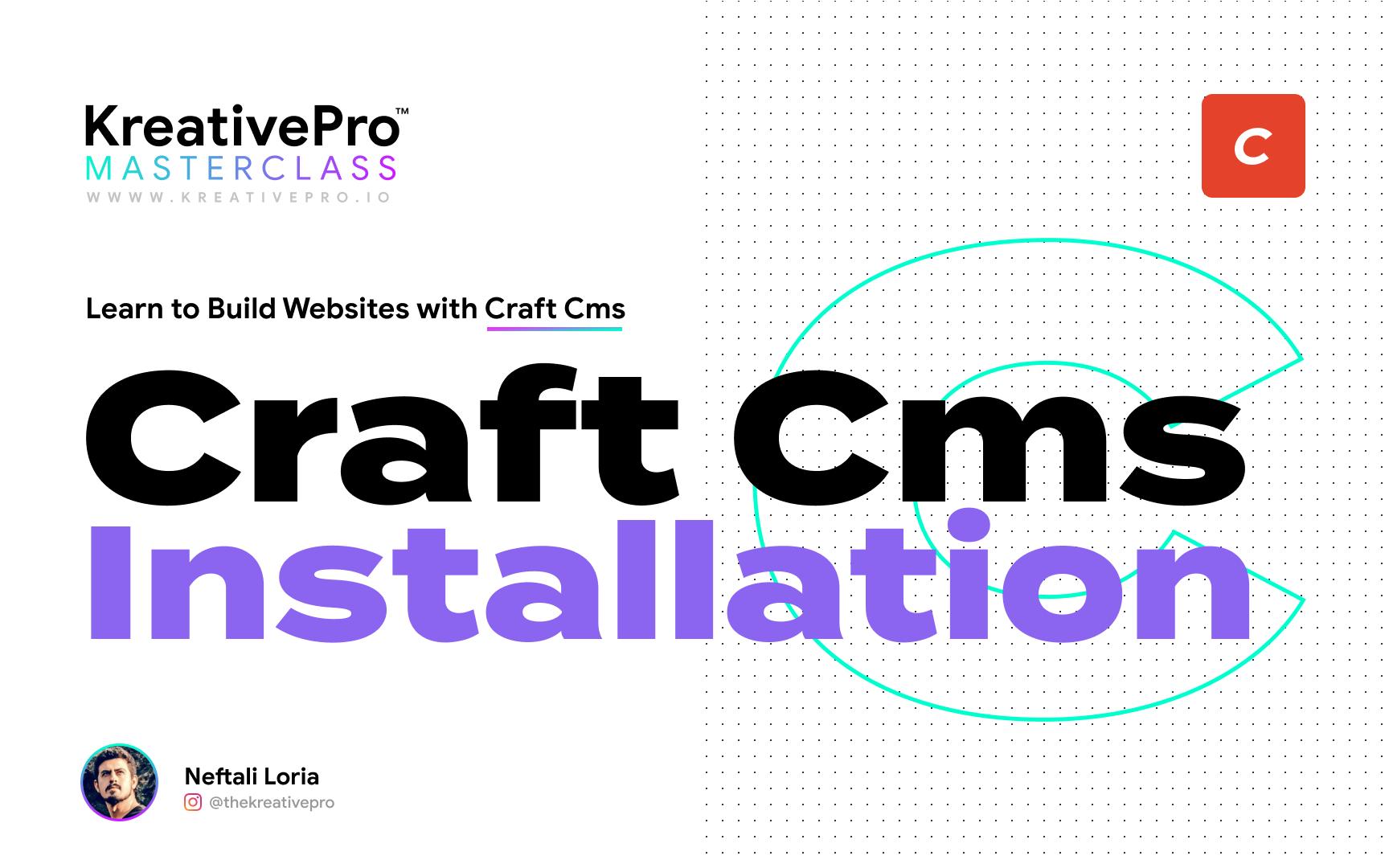 Craft 2.4 - Craft Installation