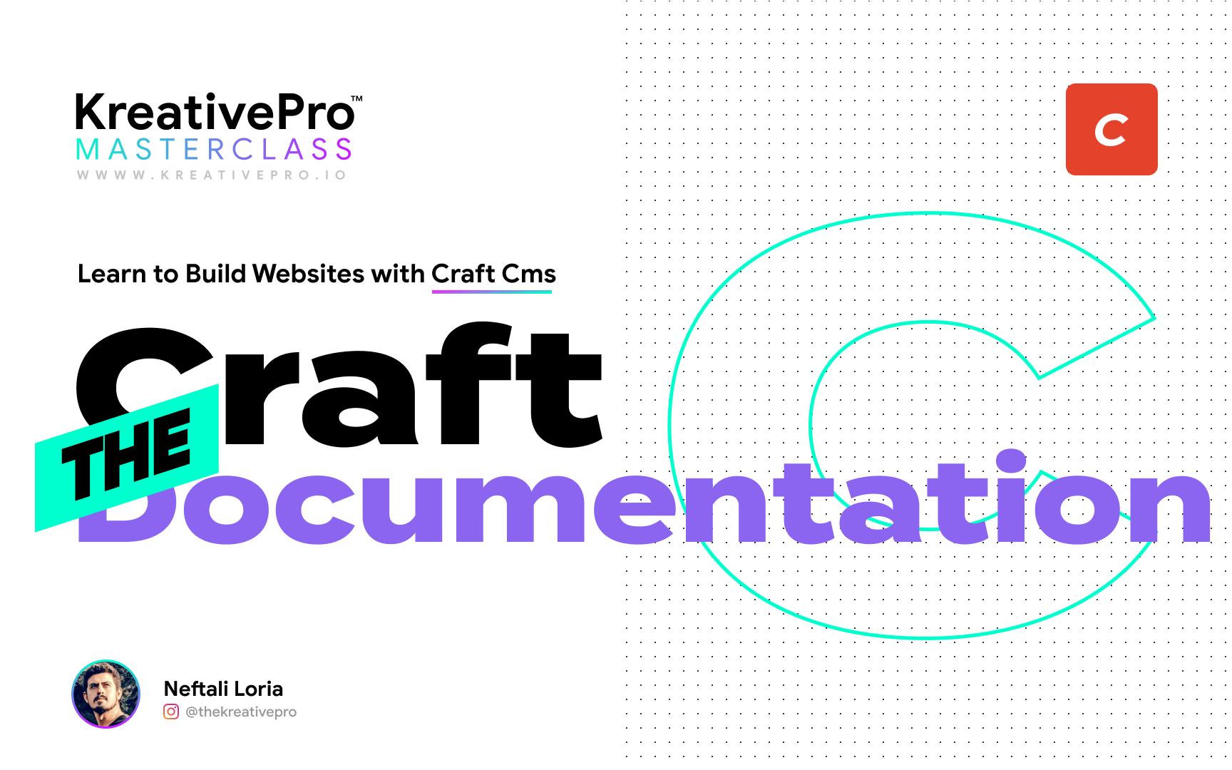 Craft 2.7 - Craft Documentation