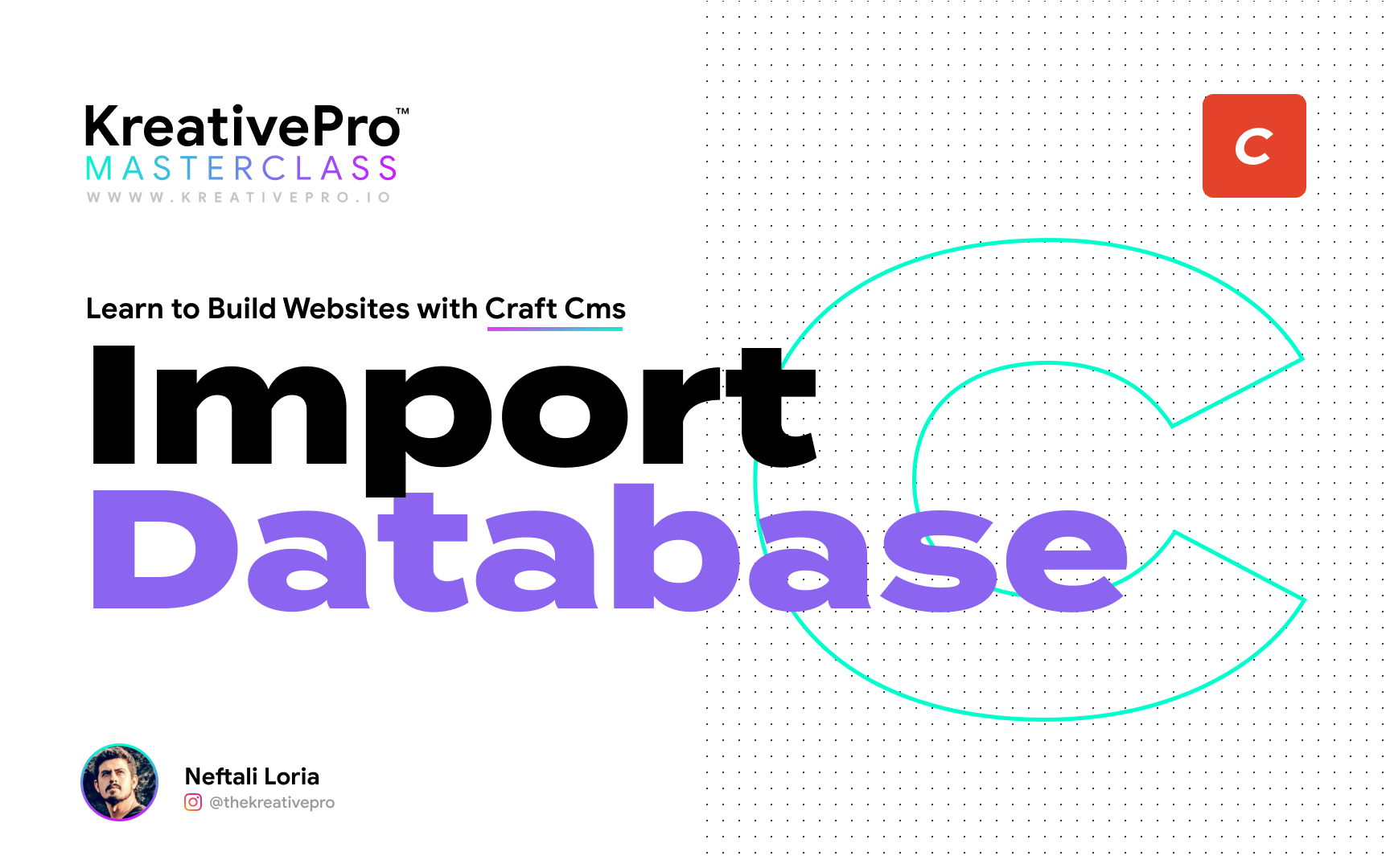 Craft 3.7 - Import Database with FeedMe