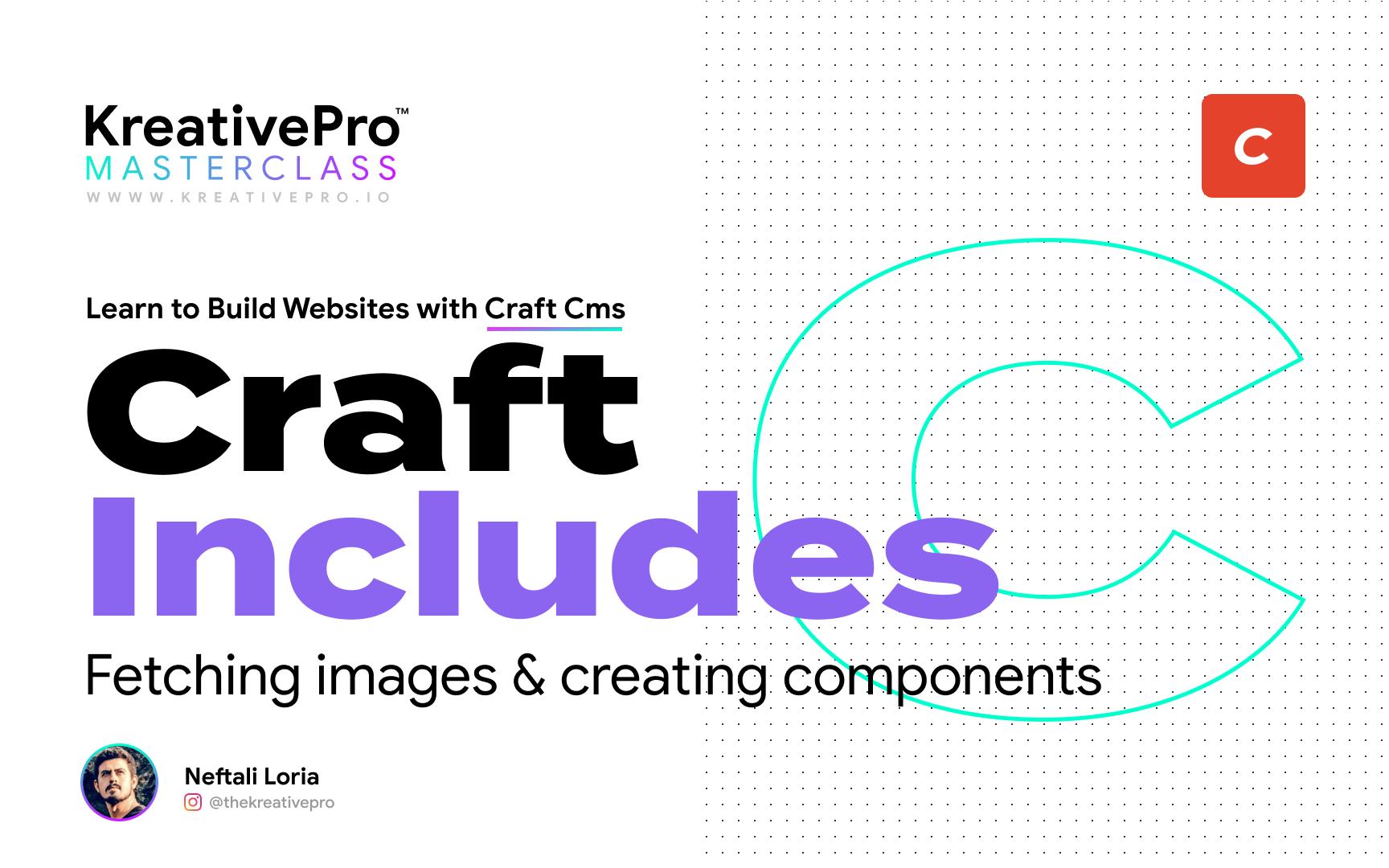 Craft 4.2 - Craft Includes