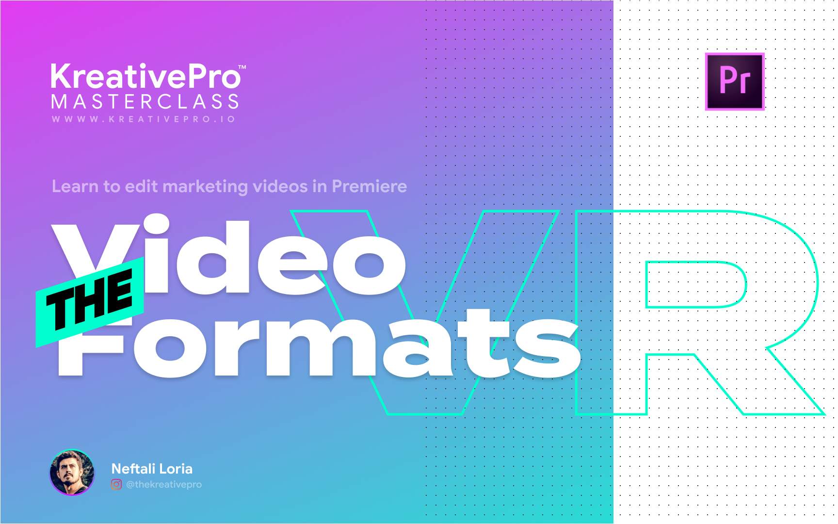 Adobe Premiere 4.0 - The Video Formats