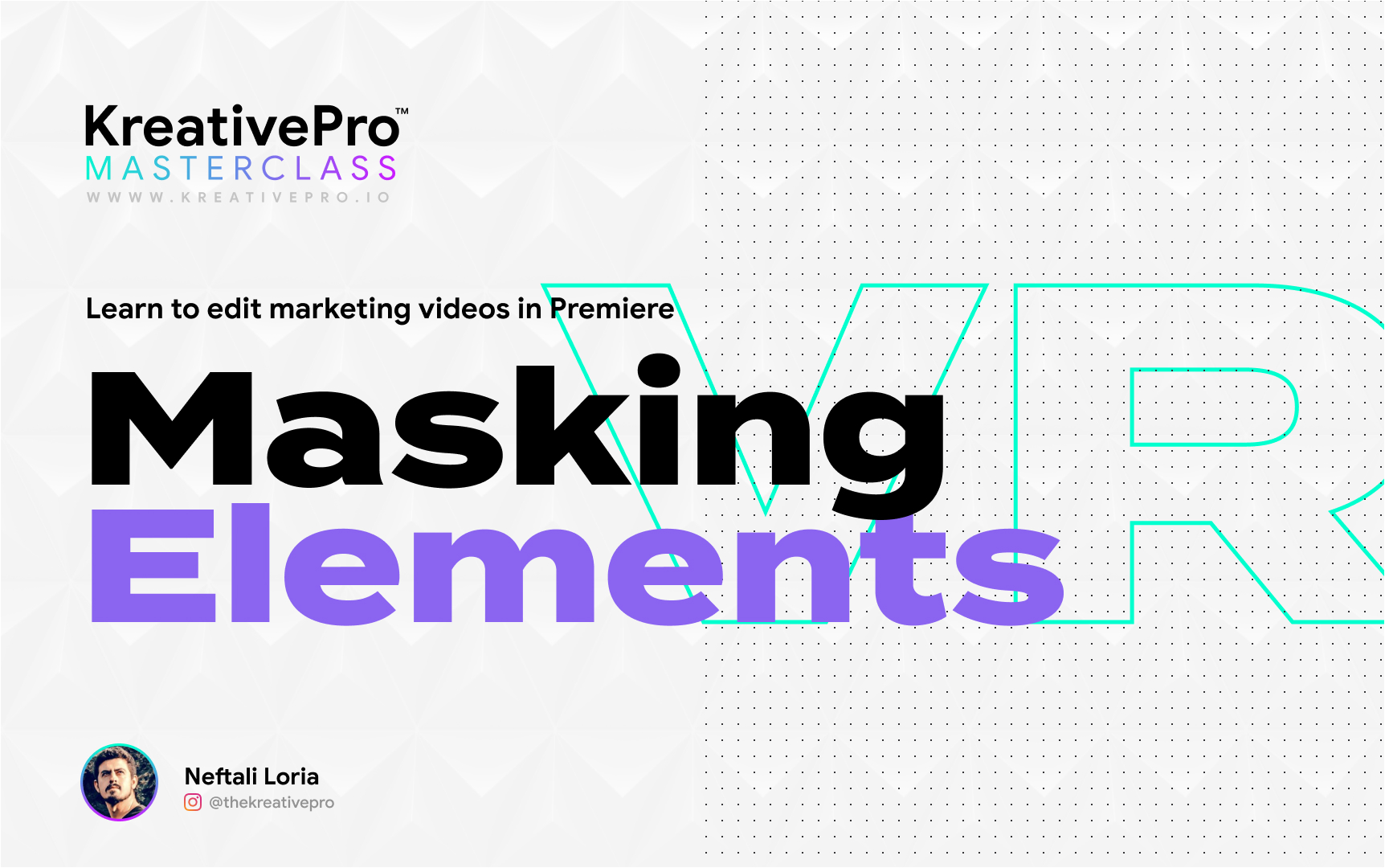 Adobe Premiere 3.6 - Masking Elements