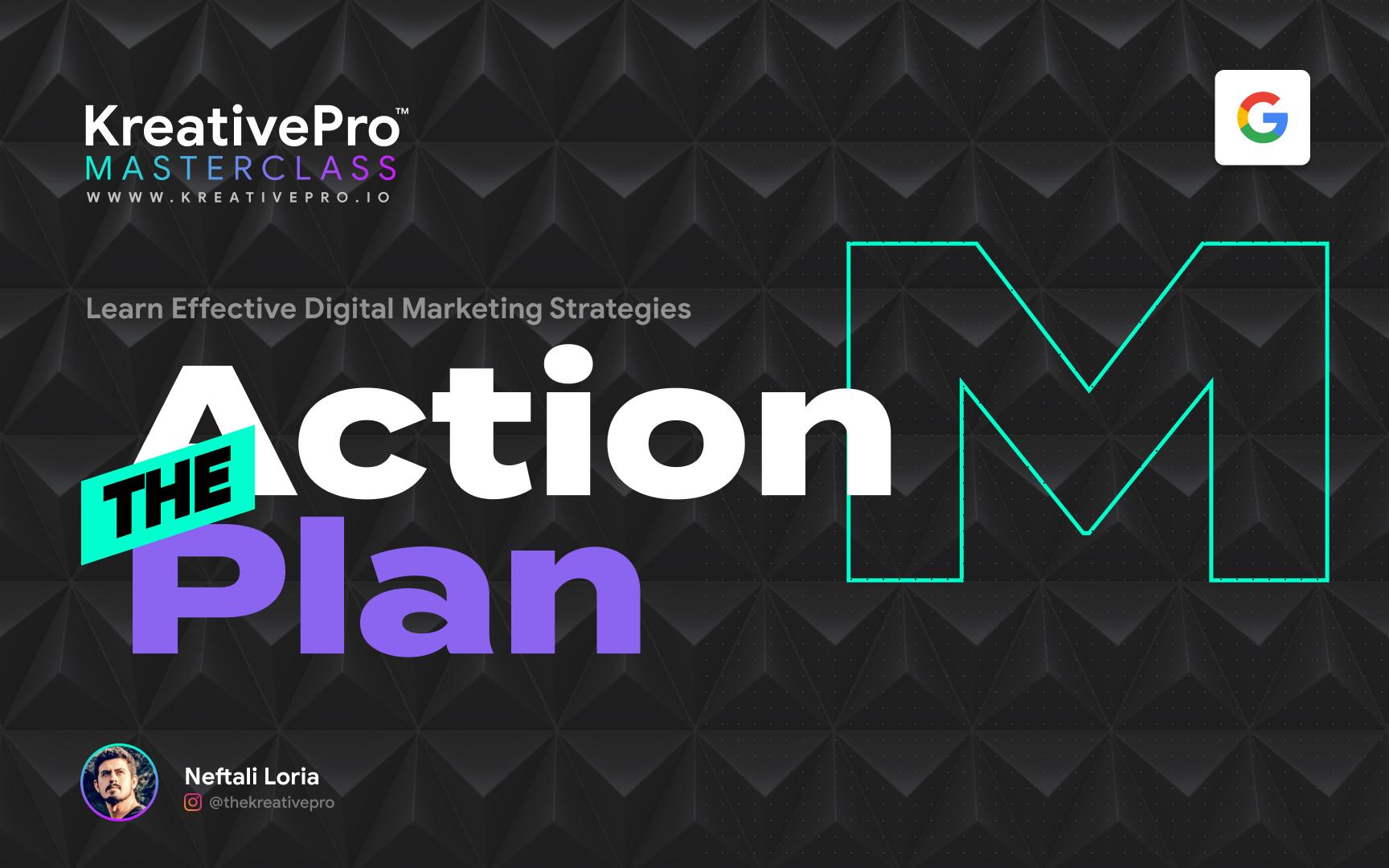 Marketing 1.1 - Action Plan