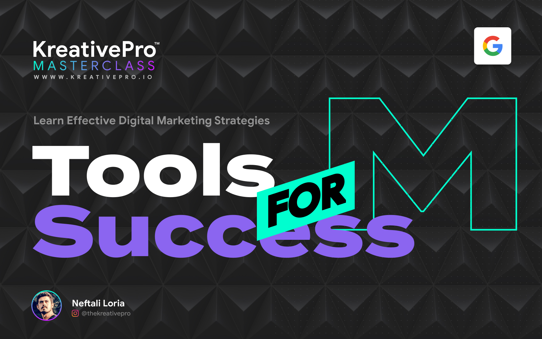 Marketing 1.2 - Tools for Success