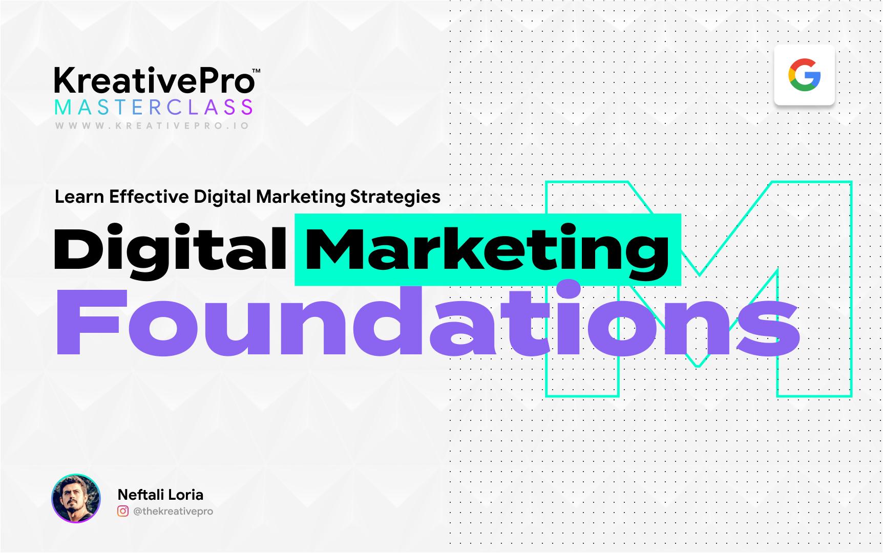 Marketing 1.3 - Marketing Foundations