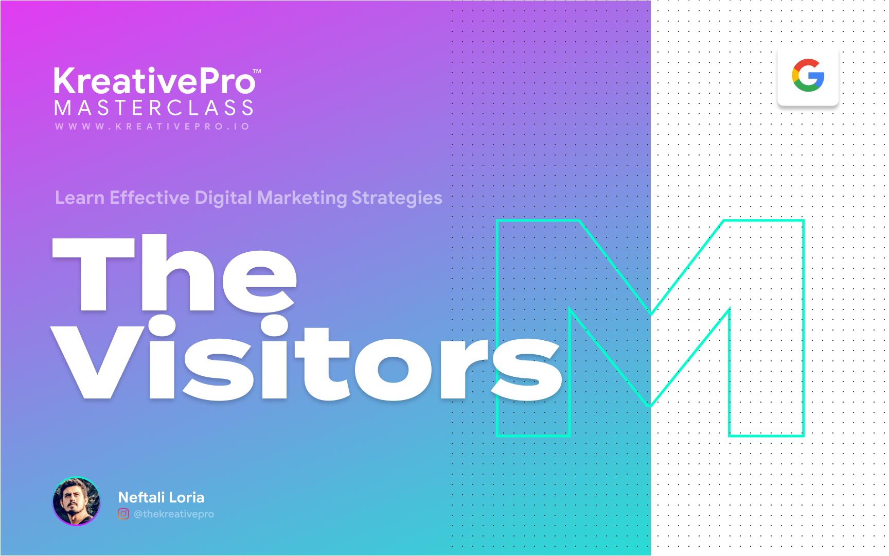 Marketing 2.0 - Website Visitors
