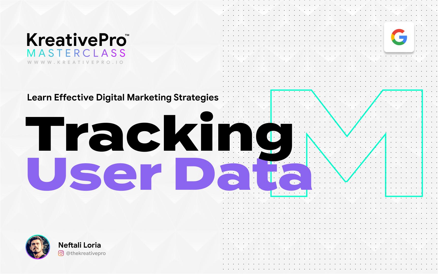 Marketing 2.4 - Tracking User Data