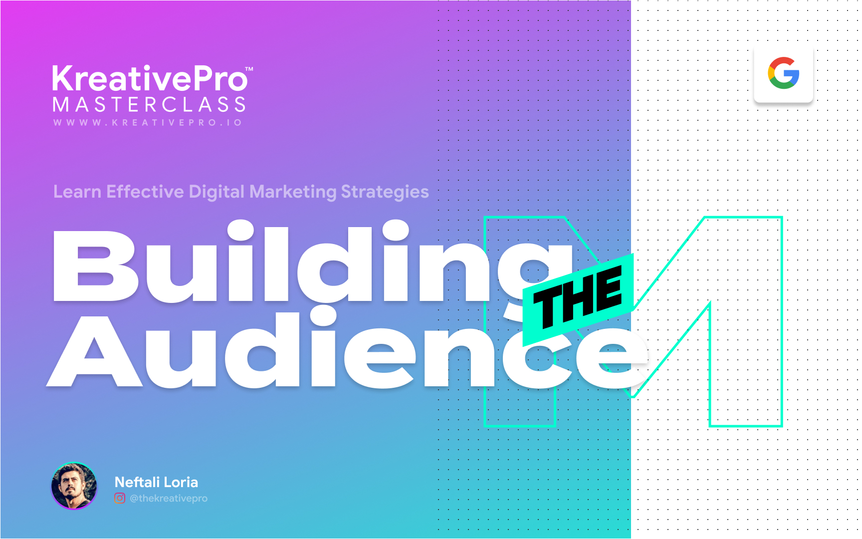 Marketing 3.0 - Building an Audience