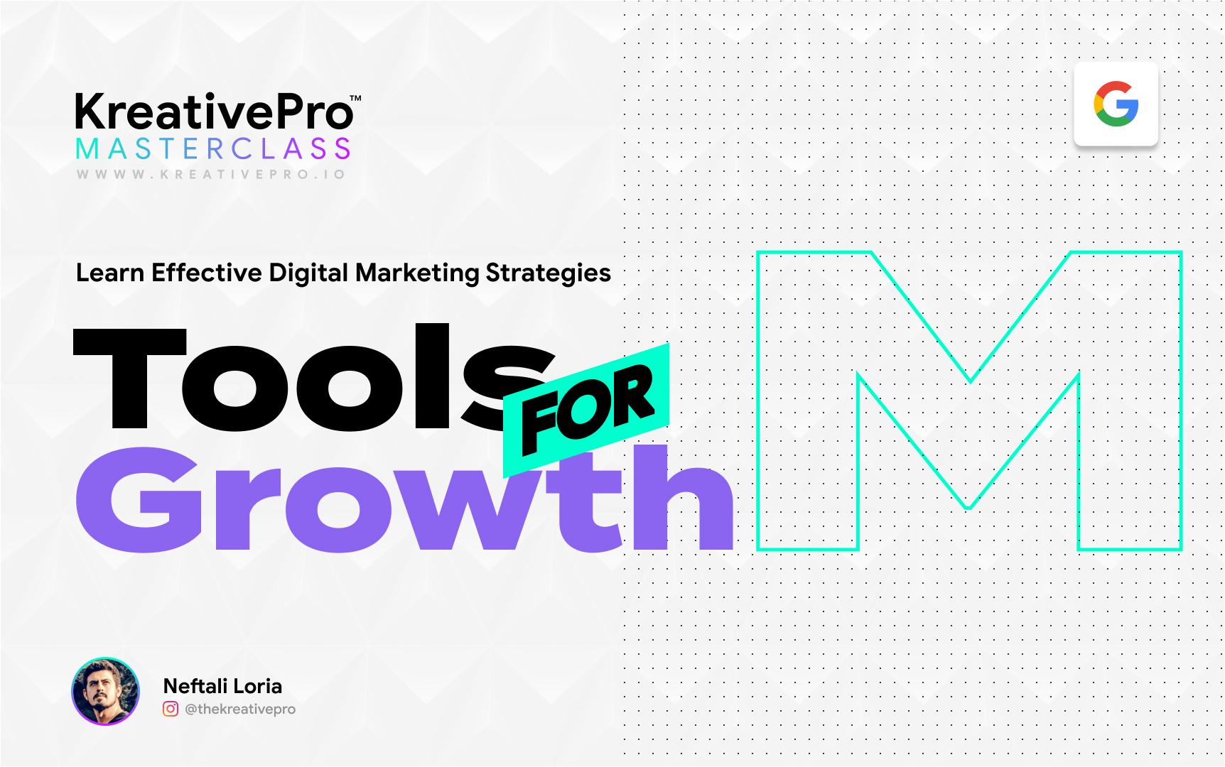 Marketing 3.4 - Organic Social Media Marketing and Tools for Growth