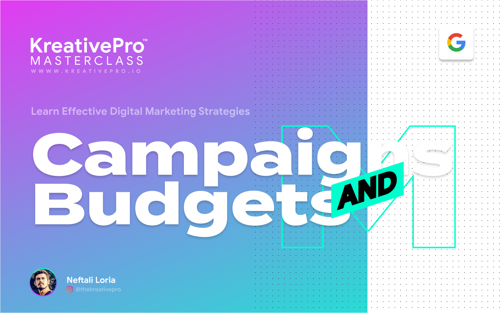 Marketing 4.0 - Campaigns and Budgets