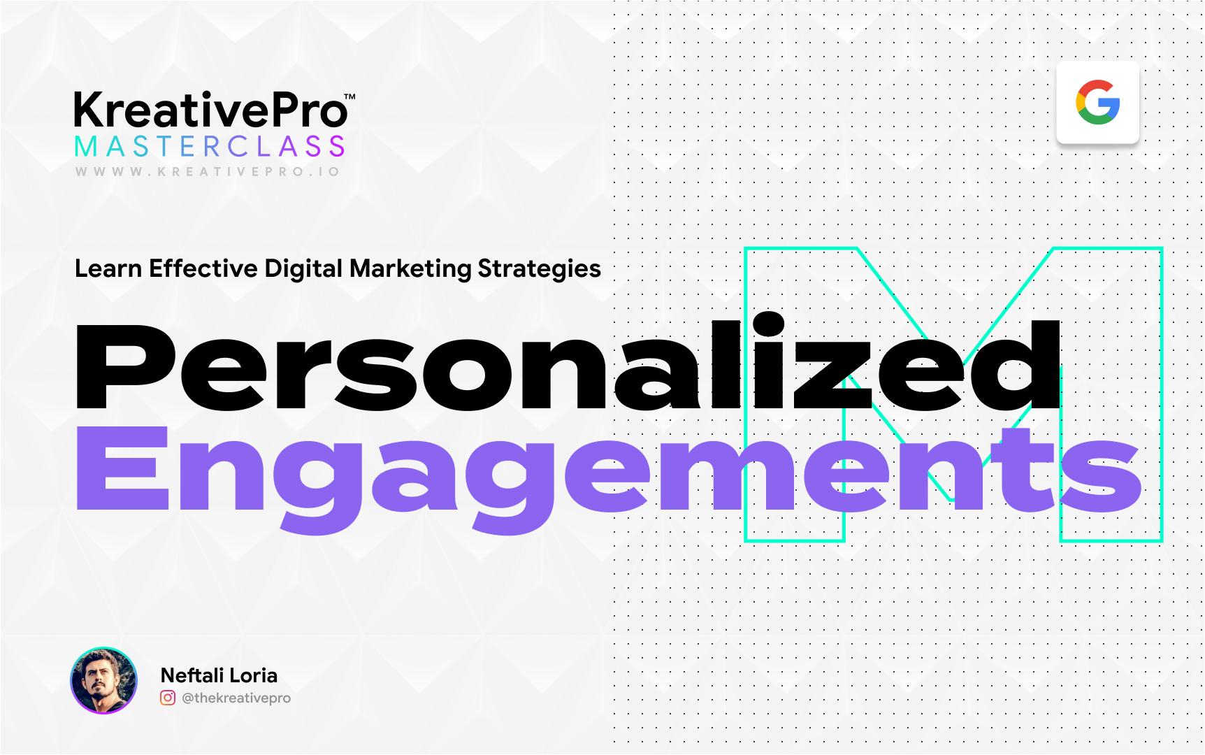 Marketing 4.1 - Personalized Engagement