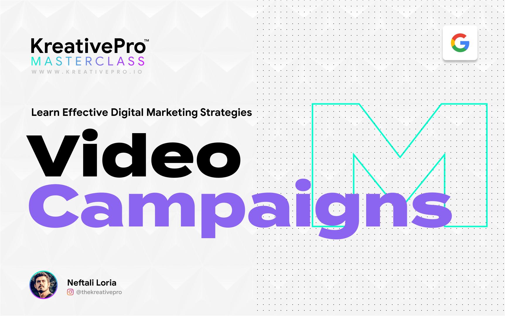 Marketing 4.3 - Video Ad Campaigns