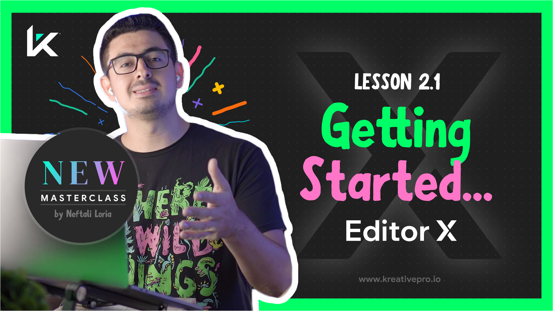Editor X 2.1 - Getting Started with Editor X