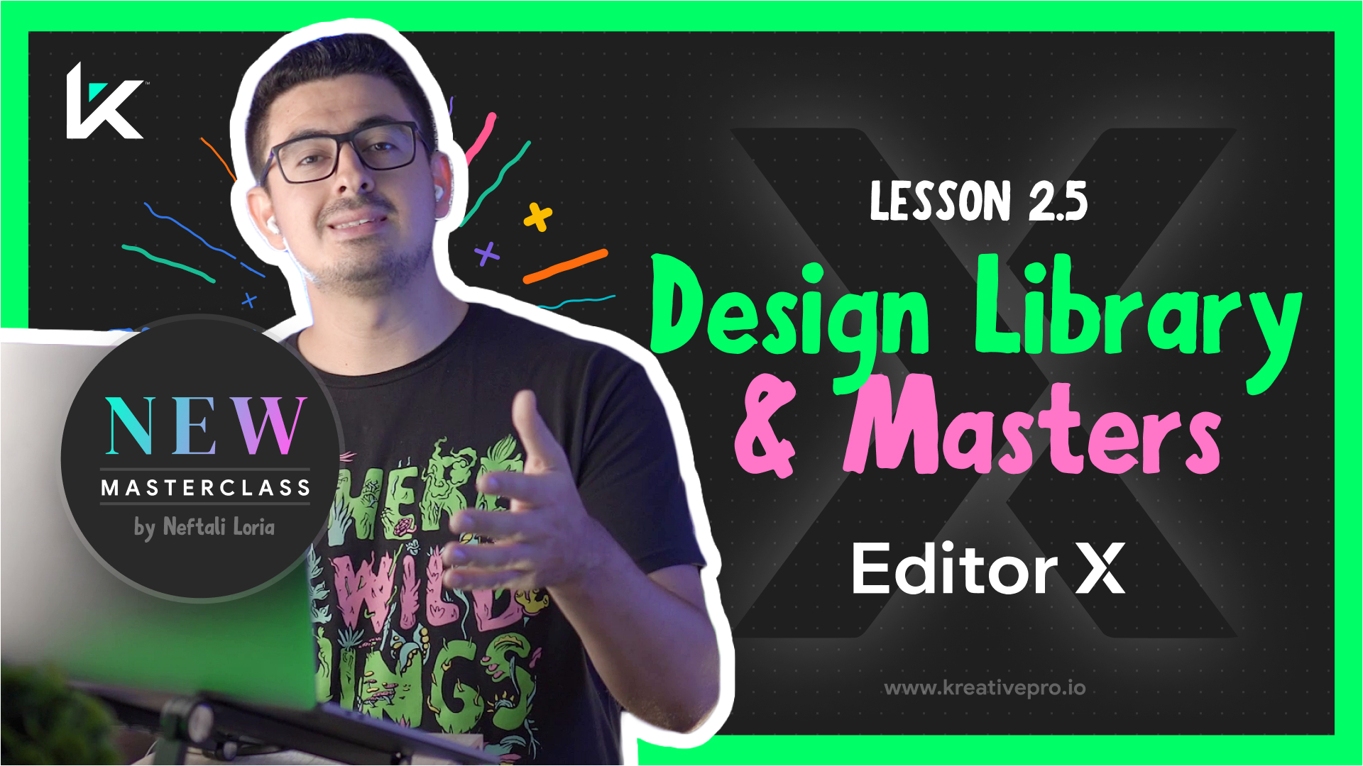 Editor X 2.5 - Editor X Design Library and Masters
