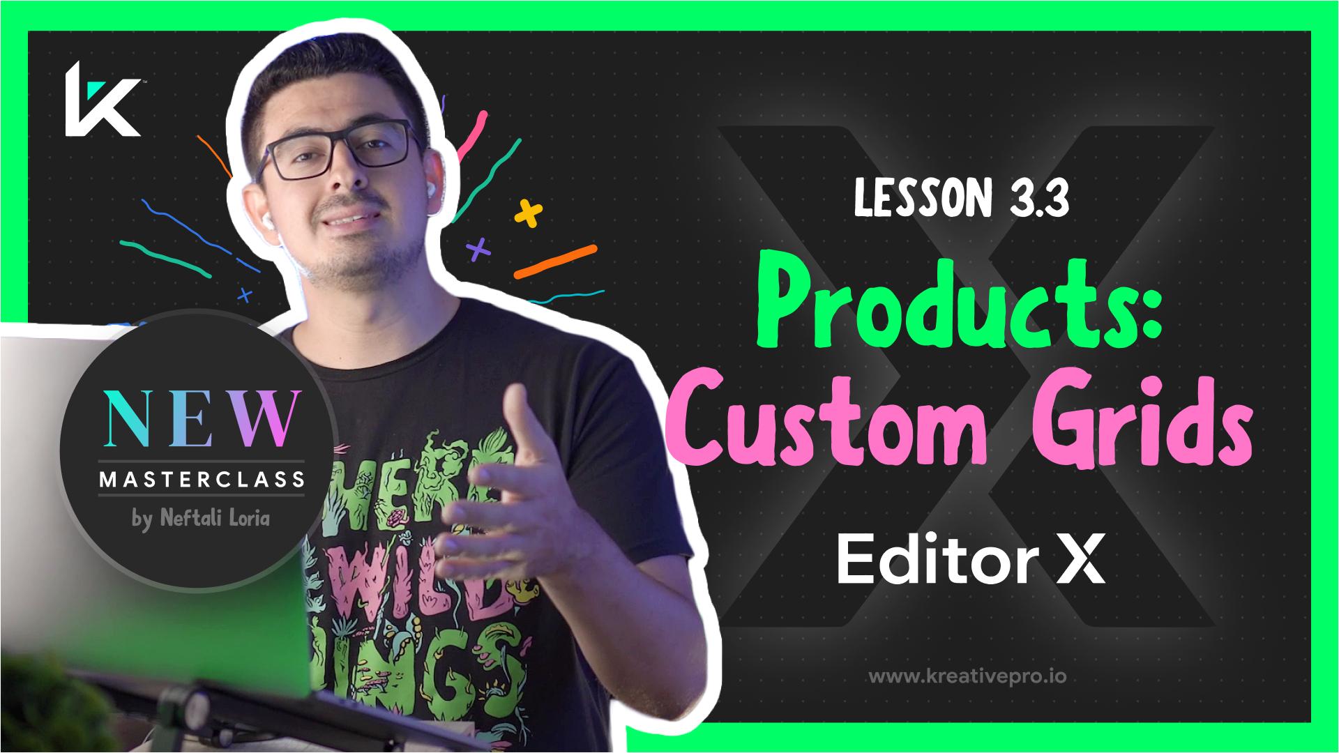 Editor X 3.3 - Editor X Custom Grids