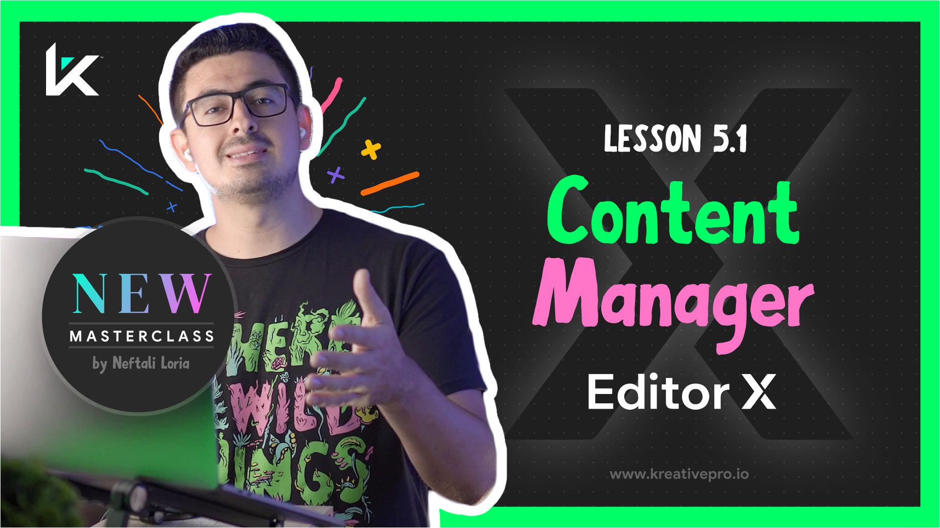 Editor X 5.1 - Content Manager