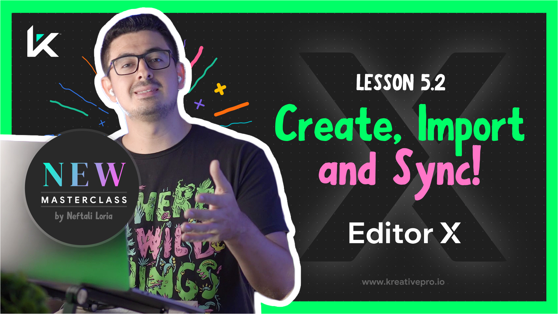 Editor X 5.2 - Create and Sync Data