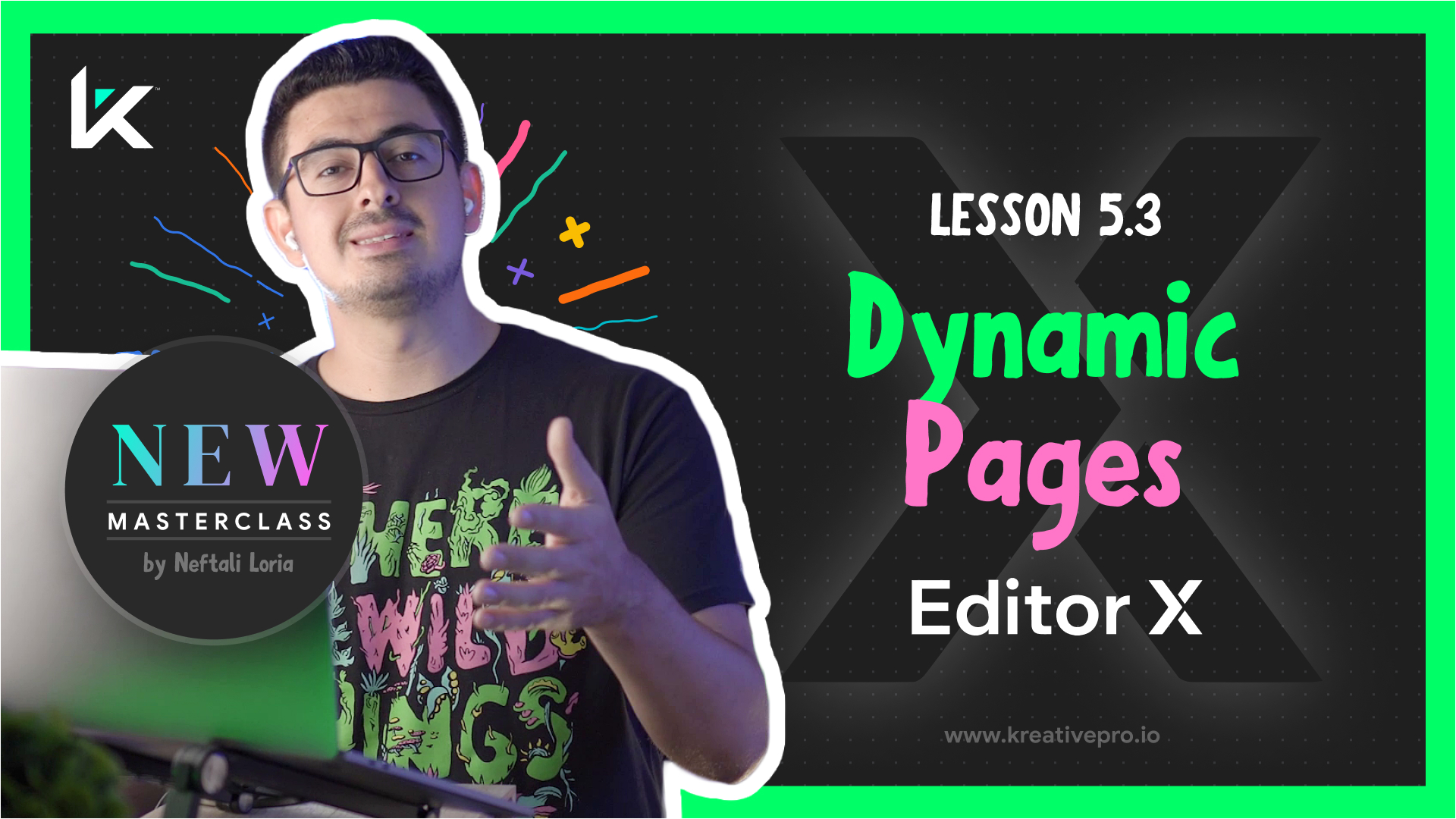 Editor X 5.3 - Dynamic Pages