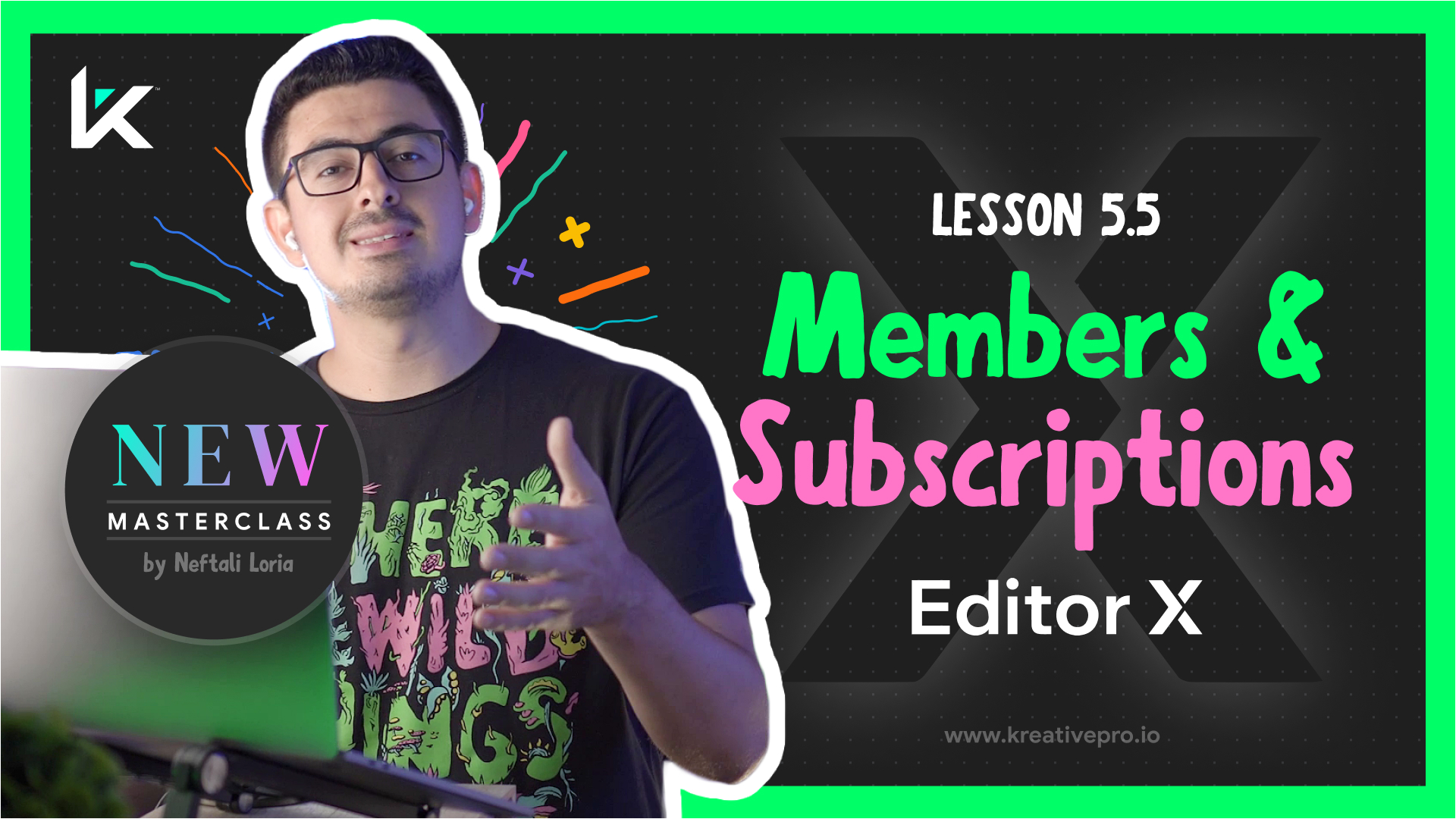 Editor X 5.5 - Memberships and Subscriptions