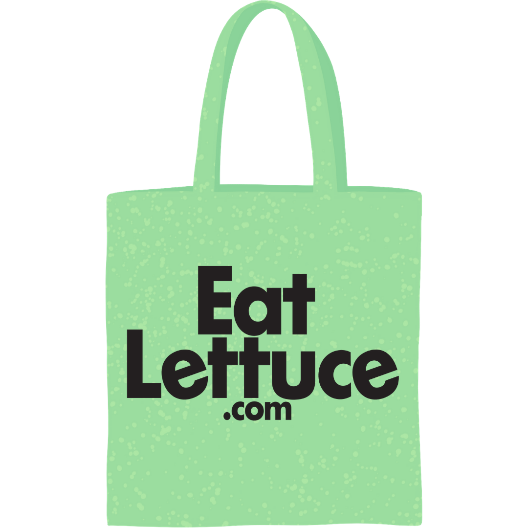 An eat lettuce delivery bag