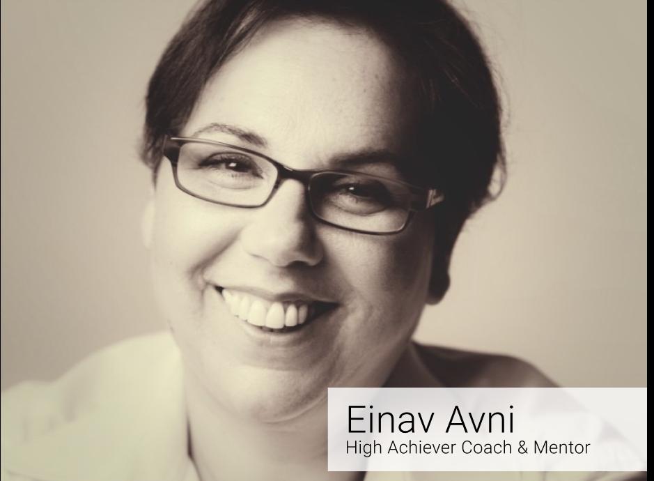 Einav Evni - Mentor